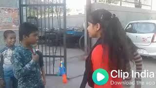 लड़कियों ने दिया गली सुनकर रह जायें दंग. / Indian teen girls full on gali.
