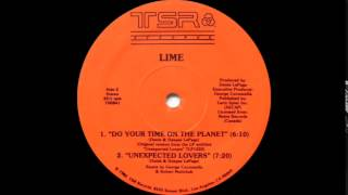 Lime II - Unexpected Lovers (TSR Records 1985) Remix