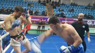 Nair Melikyan (Georgia) vs Mustafa Ranjbar (Iran) 2018 International Championship
