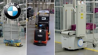 The innovative and autonomous production tools at BMW Group