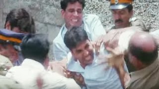 Akshay Kumar arrested by Police | Bollywood Action Scene - Police Force - Scene 7/10