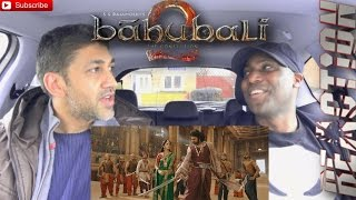 Bahubali 2 - The Conclusion Trailer REACTION!