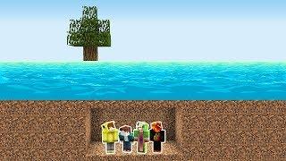Minecraft SULAR'A KARŞI %100 GÜVENLİ SIĞINAK!