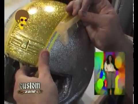 CUSTOM ZONE Aerografia en casco Disco STU 26 minutos Programa completo
