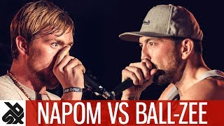 NaPoM vs BALL-ZEE | Fantasy Battle | World Beatbox Camp