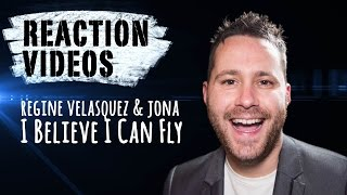 Regine Velasquez & Jona - I Believe I Can Fly | REACTION