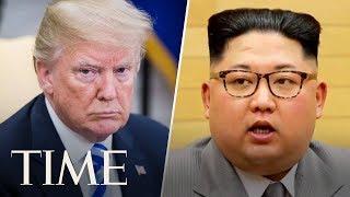 President Donald Trump And North Korean Leader Kim Jong Un Hold Historic Summit   TIME