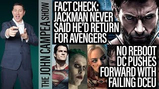 Fact Check: Hugh Jackman Never Said He'd Return As Wolverine For MCU - The John Campea Show