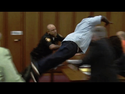 7 Shocking Courtroom Moments Caught On Camera