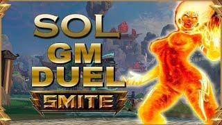 SMITE! Sol, Tardabamos en traer esta skin! GM Duel #46
