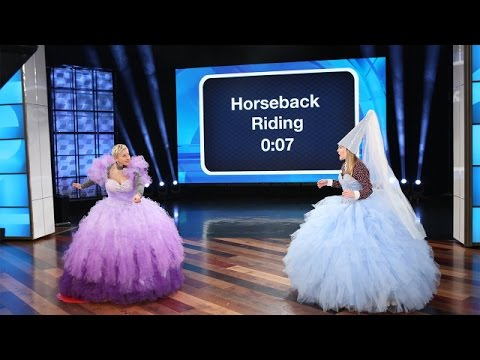 Ellen and Drew Barrymore s Giant Royal Game of Heads Up