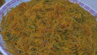 Zarda Pulao - Afghan Naranj rice pulao