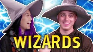 ROCK PAPER WIZARDS! (Board AF)