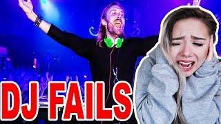 DJ reagiert auf die schlimmsten DJ FAILS!!!