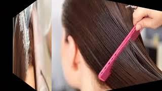 تنعيم وفرد الشعر بالنشا بطريقة سهلة جدااا ومجربة ومضمونة