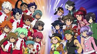 Inazuma Eleven Go VS Danball Senki W – Legendado desenhos animados em portugues completos YouTube