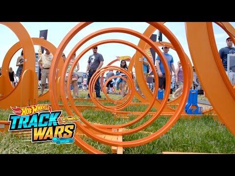 Big Loop! | Indy500 | Track Wars | Hot Wheels