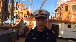Nave Vespucci 2016 arriva a Brest