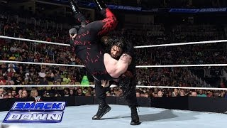 Roman Reigns vs. Kane: SmackDown, June 27, 2014