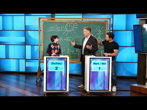 Xxx Mp4 Will Ferrell And Mark Wahlberg Test Their Knowledge Against Whiz Kid 3gp Sex