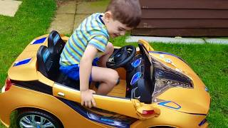Car WHEEL FELL OFF ! Changing Wheel Bike * Nursery Rhyme Songs