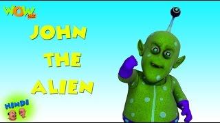 John The Alien - Motu Patlu in Hindi - 3D Animation Cartoon for Kids -As seen on Nickelodeon