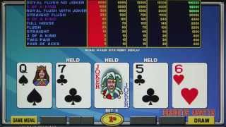 IGT | LAL Lucky Quads Poker | Game Play