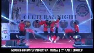 SNG Crew - Mumbai | 2nd place | Indian Hip-Hop Dance Championship | HHI