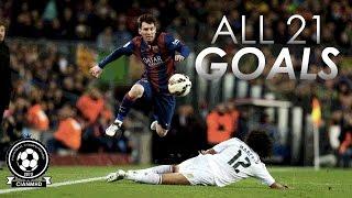 Lionel Messi [ALL GOALS] vs Real Madrid  HD 