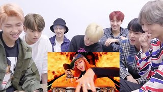 bts reacting to blackpink as if it and 39 s your last