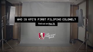 The Search for KFC's First Filipino Colonel