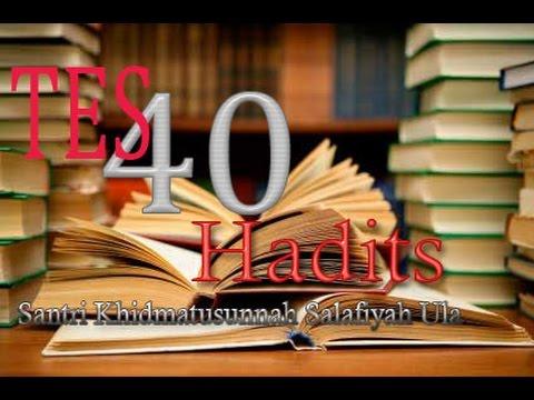 Tes Hafalan 40 hadits - Santri Salafiyah Ula - KHIDMATUSSUNNAH