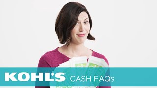 Can I Use Expired Kohl's Cash®? | Kohl's