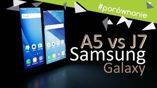 Samsung Galaxy A5 (2017) vs Galaxy J7 (2016) - Porównanie / Test / Opinie / Comparison / Vergleich