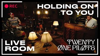"""twenty one pilots - """"Holding On To You"""" captured in The Live Room"""