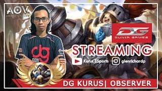 Live Stream |  DG Kurus AOV INDONESIA (18+) | BALIK ANALYST DI GARENA LANGSUNG LIVE STREAM ~