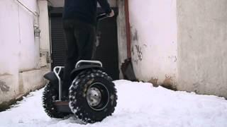 Segway First Snow Grip Test