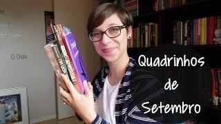 Leituras de Setembro - Edição Quadrinhos!