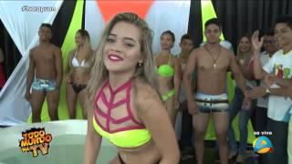 PROVA DA BANHEIRA TODO MUNDO NA TV 16 04 2016