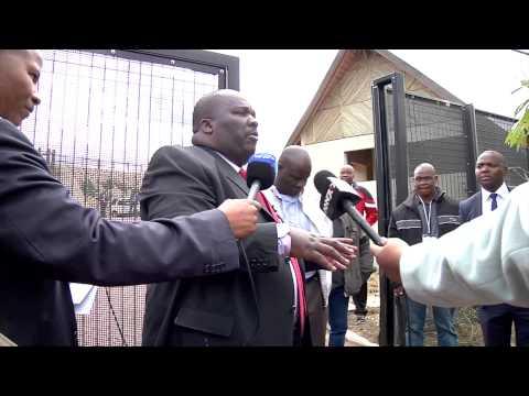Tour of President Jcob Zuma's Private Residence in Nkandla
