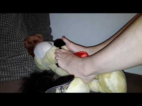 Small TRAMPLING and foot play
