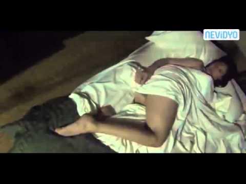 Half naked sleeping girl, her boyfriend (lover) is a terrible joke