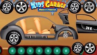 Cars Factory - Animation Cartoons for Children | Car Driving for Kids - Kids Garage Wheels