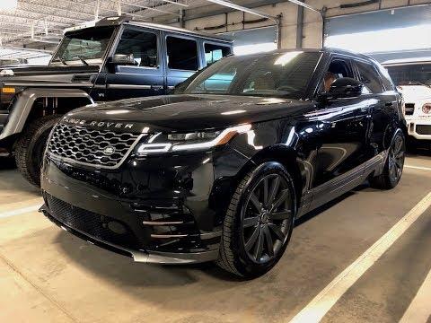 2018 Range Rover Velar R Dynamic Walkaround in 4K