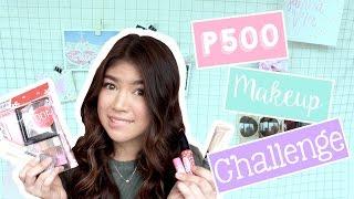 500 Pesos Makeup Challenge | Janina Vela