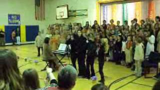 Lacey's 4th grade play -