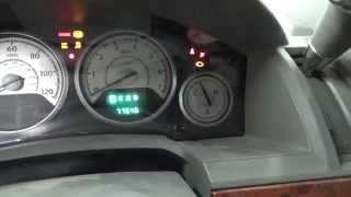 Reset Oil Change Message On Dodge Caravan and Town & Country