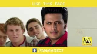 Ritesh Deshmukh kicks Tanmay's Butt over Sachin and Lata's video - FANMADe07