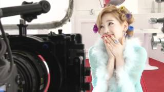 Girls' Generation-TTS Twinkle Music Video Making Film