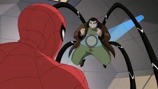 Spectacular Spider-Man (2008) Spider-Man vs Doc Ock part 1
